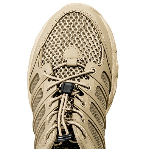 FREE SOLDIER Outdoor Mens Quick Drying Lightweight Sport Hiking Water Shoe(Sand 6.5 D (M) US) c6Je3