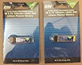 2 Pack of the E-Flite 150mAh 1S 3.7V Review and Comparison
