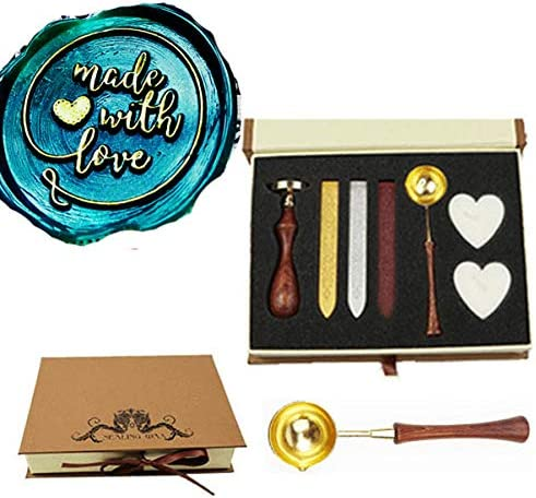 USA Fast Shipping from Utah Wax sticks invitations and more wax spoon Heart Design Wax Seal Stamp birthday Wedding Great for Gifts