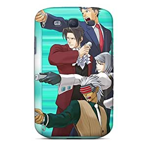 Cute Tpu PamarelaObwerker Phoenix Wright Ace Attorney 16992 Cases Covers For Galaxy S3