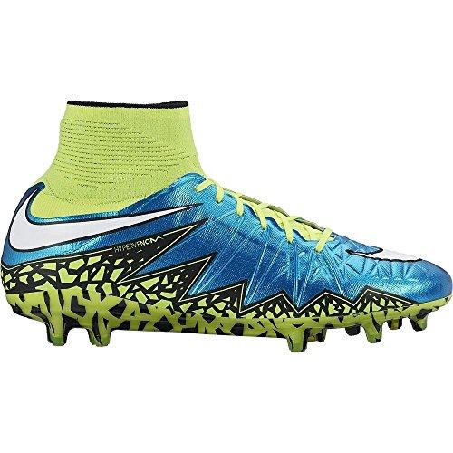 Nike Hypervenom Fantôme Ii Fg Football Crampons Womens Sz 13 Hommes Sz 11,5 Lagon Bleu 718752-487