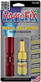 RapidFix UV Liquid Plastic Adhesive 10ml Single Pack Refill