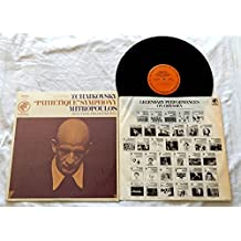 Dimitri Mitropoulos Tchaikovsky Pathétique Symphony LP - Columbia Odyssey Records 195 - Near Mint In Shrink Wrap - New York Philharmonic - a Re-Release