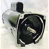GW YY5682-L7 2 HP, 3450RPM, 1.3 Service Factor, 56Y Frame, ODP Enclosure, 208-230V, Square Flange Pool Motor