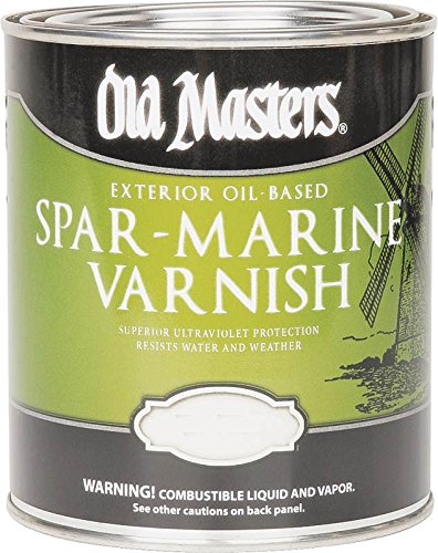 Old Masters 92301 Spar Marine Varnish, Satin