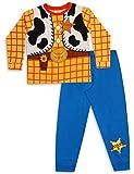Boys Toy Story Buzz LightYear Or Woody Dressing Up Pyjamas 18-24m 2-3y 3-4y 4-5y 5-6y (5-6y, Woody)