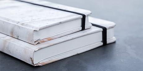 Rock Design - Paquete de dos Cuadernos Mármol Rosa Pasta Suave