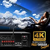 1000W Bluetooth Home Theater Receiver - 5.2-Ch