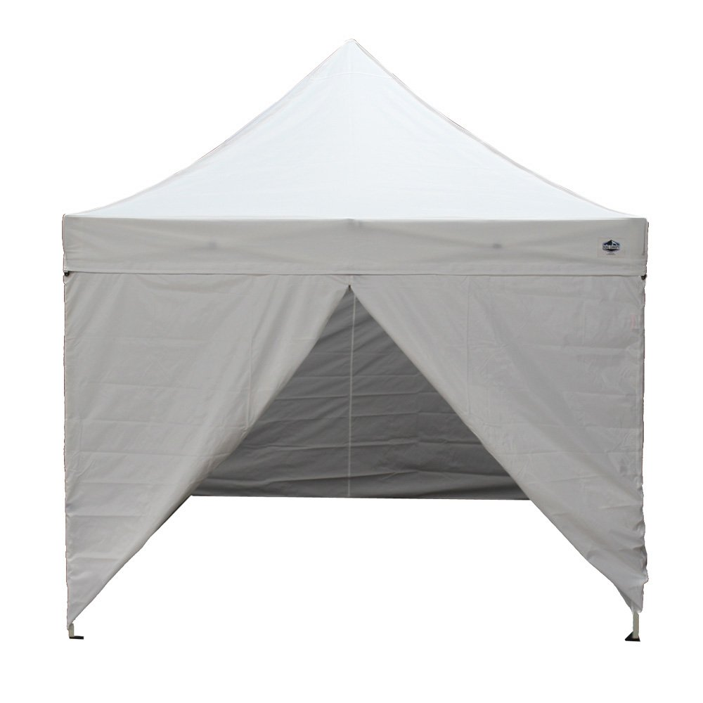 Amazon.com  King Canopy TTSHAL10WHW 10-Feet by 10-Feet Tuff Tent Aluminum Instant Canopy with Walls and Heavy Duty Roller Bag White  Outdoor Canopies ...  sc 1 st  Amazon.com & Amazon.com : King Canopy TTSHAL10WHW 10-Feet by 10-Feet Tuff Tent ...