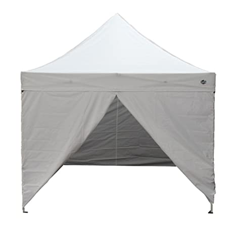 King Canopy TTSHAL10WHW 10 Feet By Tuff Tent Aluminum Instant With