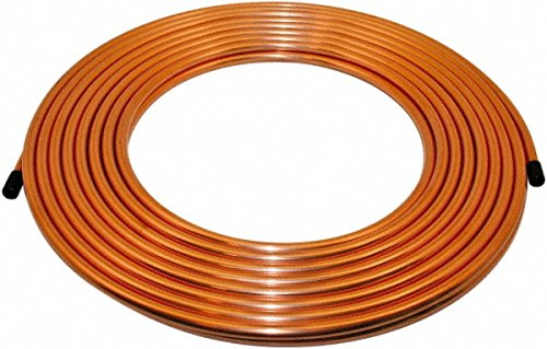 Made in USA - 10 Ft. Long, 1/2 Inch Outside Diameter, Alloy 122 Copper Tube 85884948