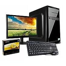 pcWorks Mayoreo Computadora Completa Ciber Intel Celeron J3060 2gb Ram 160gb Monitor 15.6´´ Teclado y Mouse Escolar Oficina