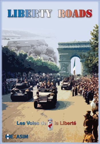 HEX  Liberty Roads, the Liberation of Western Europe, 1944-45, Board Game, 2nd Edition by HEX Hexasim