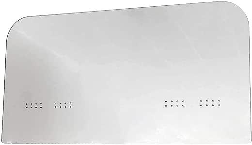 Mampara de Protección | Material PET | Transparente | Modelo Driver | Indicado para Taxis | Fácil Montaje | Sujeción con Bridas | 3 mm de Grosor | 115 X 60 cm: Amazon.es: Oficina y papelería