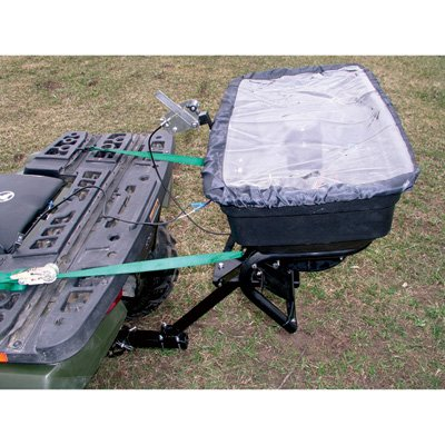 Field Tuff AS-125ATV12 Receiver Mount Spreader, 125-Pound - Broadcast Spreader Atv