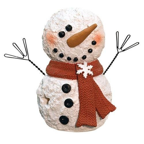 Heart of America LED Snowman with Scarf 3.5'' H