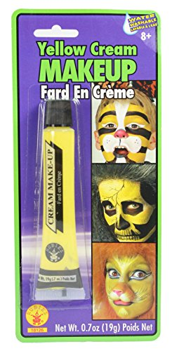 Largemouth Cream Costume Makeup Face Body Paint Tube (Neon Yellow Body)