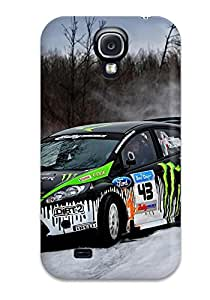 COWlwnA5026XAydP Tpu Phone Case With Fashionable Look For Galaxy S4 - Ford Fiesta Snow