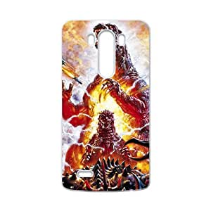 QQQO Monster World Cell Phone Case for LG G3