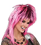 jem pink wig - Forum Novelties Women's 80's Electric Wig, Electric Pink, One Size