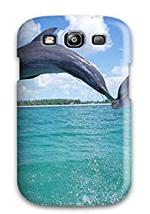 Hot Snap-on Dolphins Hard Cover Case/ Protective Case For Galaxy S3