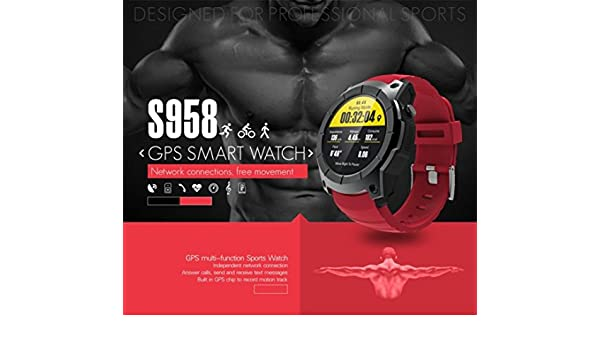 Amazon.com: Hefu Mens Bluetooth Smart Watch Support GPS,Air ...