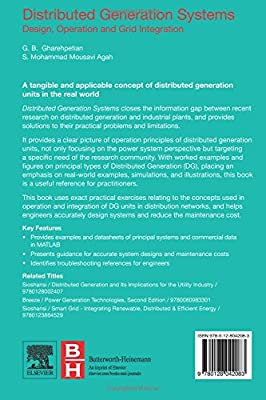 Buy Distributed Generation Systems Design Operation And Grid Integration Book Online At Low Prices In India Distributed Generation Systems Design Operation And Grid Integration Reviews Ratings Amazon In