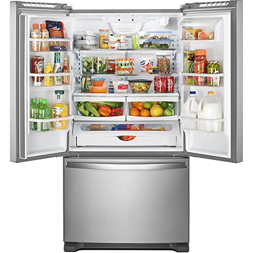 Whirlpool WRF535SWHZ 25 Cu. Ft. Stainless French Door Refrigerator