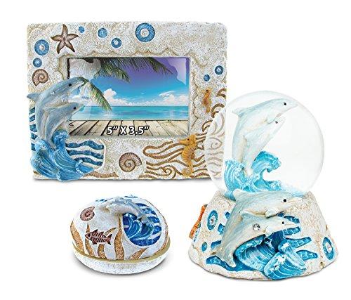 Dolphin Snow Globe Gift Set