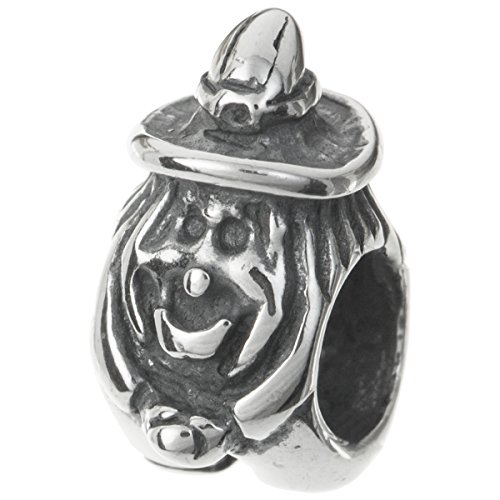 925 Sterling Silver Halloween Flying Witch Bead For European Charm Bracelet