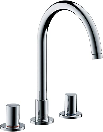 Axor 38053001 Uno Widespread Faucet in Chrome