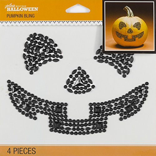 Jolee's Boutique 50-51008 Pumpkin Bling, 4-Piece