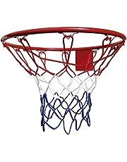 BONUS ET SALVUS TIBI (BEST) Mejor Deporte Baloncesto Aro y Red, Multicolor, 45CM