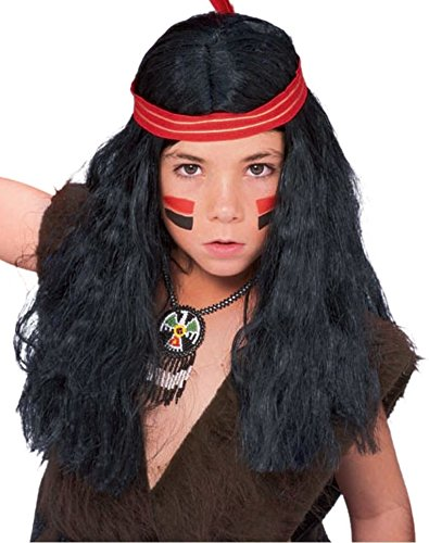 Rubie's Child's Native American Boys Costume Wig Rubies - Domestic 50849
