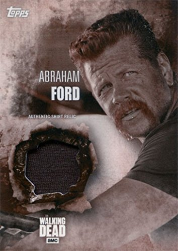 Abraham Ford Costume (Walking Dead Season 5 Costume Chase Abraham Ford Shirt Relic Sepia Parallel)