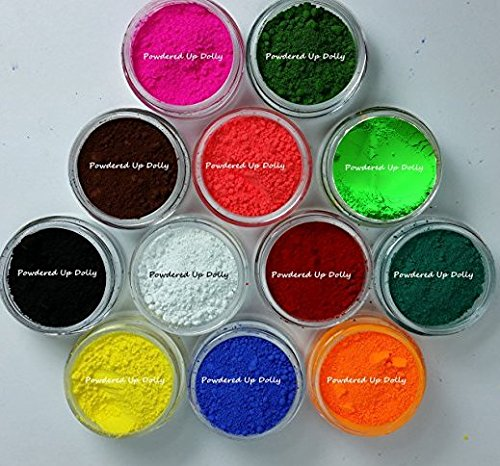 120 grams JARS 10 grams Each  12 colors OXIDE Ultramarine Re
