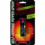 Vexor Self Defense Pepper Spray 1/2 -Ounce Twist Lock Pepper Spray Cone with Pocket Clip