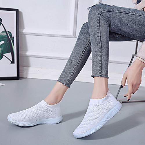 Entraînement De Unisexes Athlétique Respirant Compétition Course Semelle Blanc Protection Chaussure Chaussures Outdoor Wqianghzi Dames Travail Féminine Mode Sneakers awtqFnv