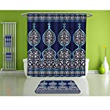 HoBeauty home Bathroom Suits &,Moroccan,Mystic Oriental Design,Fashion Personality Customization adds Color to Your Bathroom.