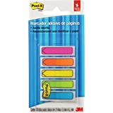 Bloco Marcador Pagina Post-It Flags Seta 5Cores Neon 100Fls. 3M
