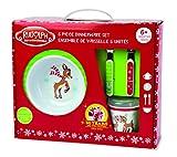 Kids Preferred 5-Piece Rudolph Melamine Dish Set