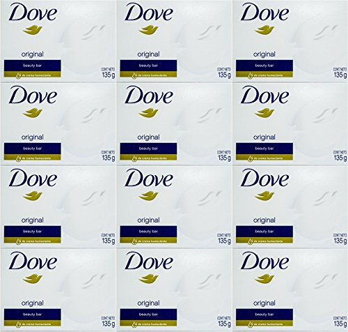 Dove White Cream Bar 4.75 Oz / 135 Gr (Pack of ()