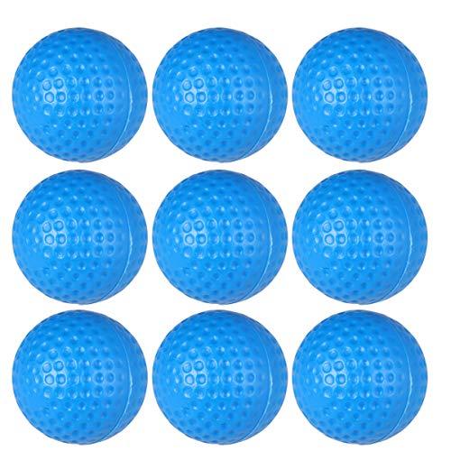 BESPORTBLE 20pcs Golf Training Balls Plastic Golf Practice Balls Sports Golf Balls for Man Woman Blue