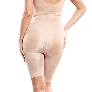 bdeee5602f AOBRITON Women Pants High Waist Tummy Control Panties Thigh Slimmer Butt  Lifter Shapewear Body Shapers Slimming Underwear at Amazon Women s Clothing  store