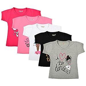 Kuchipoo Girl's T-Shirt (Pack of...