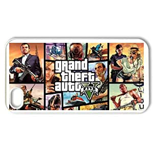 IPhone 4,4S Phone Case for Classic anime GTA 4 GAMES Theme pattern design GCAGT921011