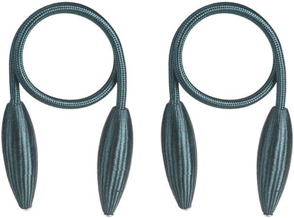 VOSAREA 2 Piezas de amarres de Cortina de Metal sin Perforaciones ...
