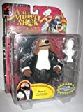 Palisades Muppet Show ROWLF THE DOG with Baby Grand Piano & Beethoven Bust Action Figure