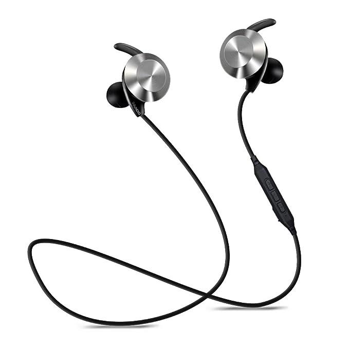 Auriculares deportivos Bluetooth, inalámbricos V4.1 auriculares ...