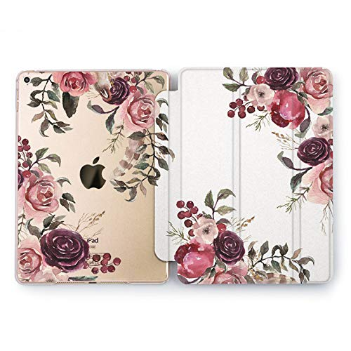 - Wonder Wild Vintage Bouquet iPad Mini 1 2 3 4 Air 2 Pro 10.5 12.9 Tablet 2018 2017 9.7 inch Drawn Case Smart Stand Floral Beauty Flower Pretty Sweet Beautiful Tulips Rose Print Leaves Luxury Trend